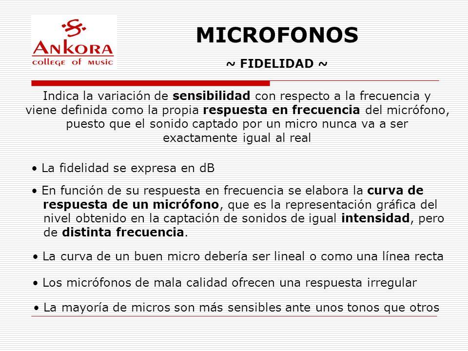 MICROFONOS ~ FIDELIDAD ~