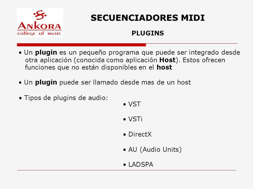 SECUENCIADORES MIDI PLUGINS