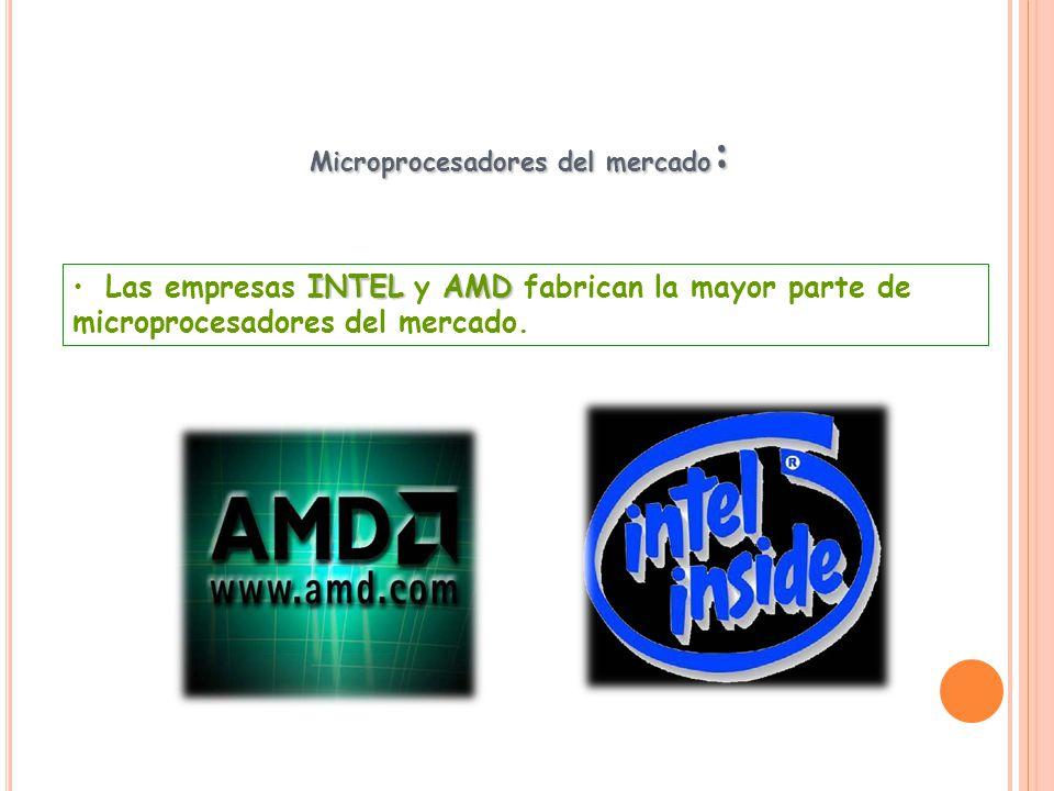 Microprocesadores del mercado: