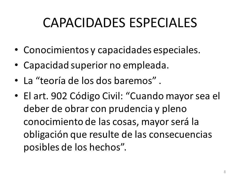 CAPACIDADES ESPECIALES