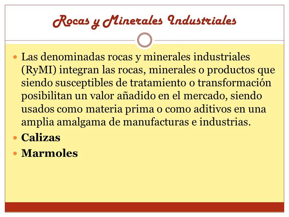 Rocas y Minerales Industriales