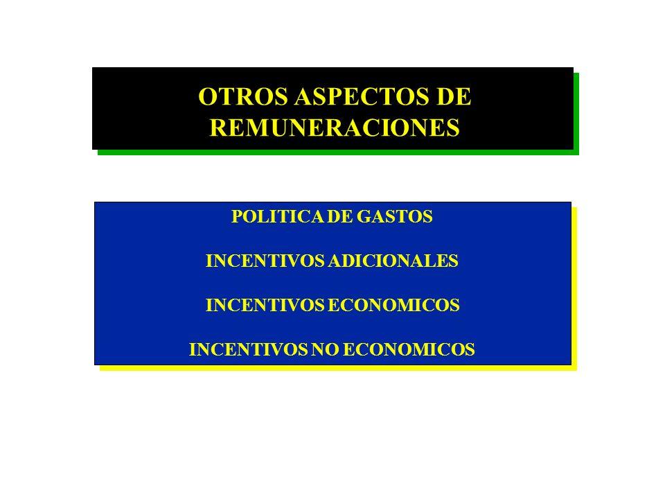 OTROS ASPECTOS DE REMUNERACIONES
