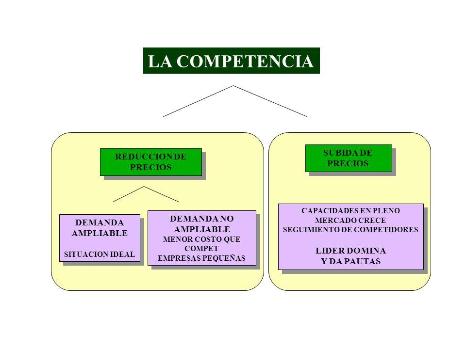 SEGUIMIENTO DE COMPETIDORES