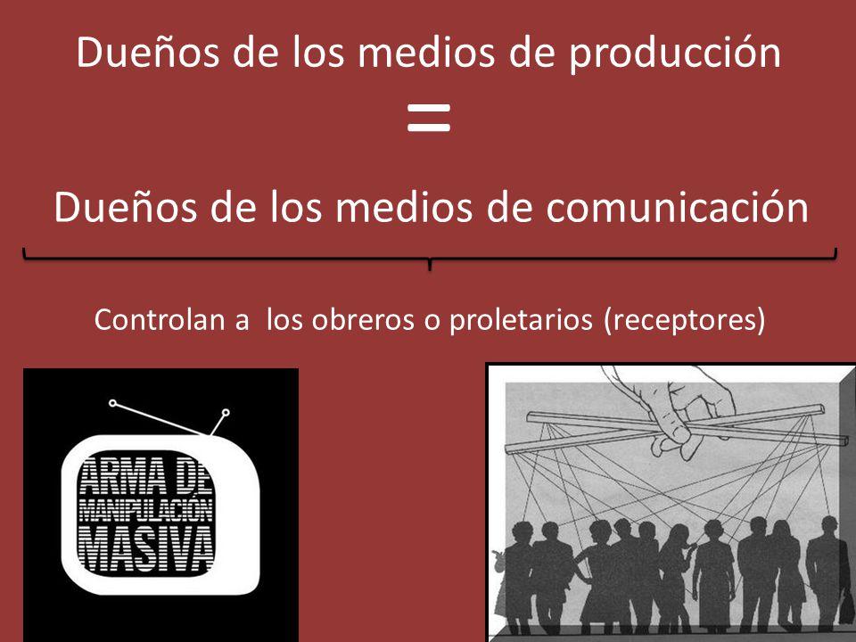 = Dueños de los medios de producción