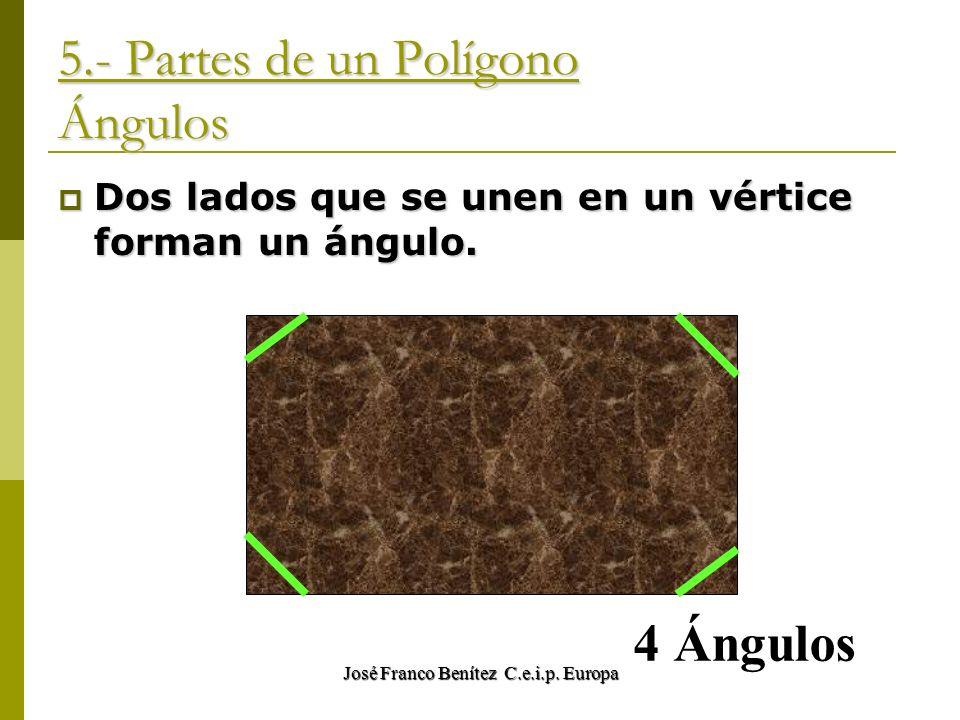 5.- Partes de un Polígono Ángulos
