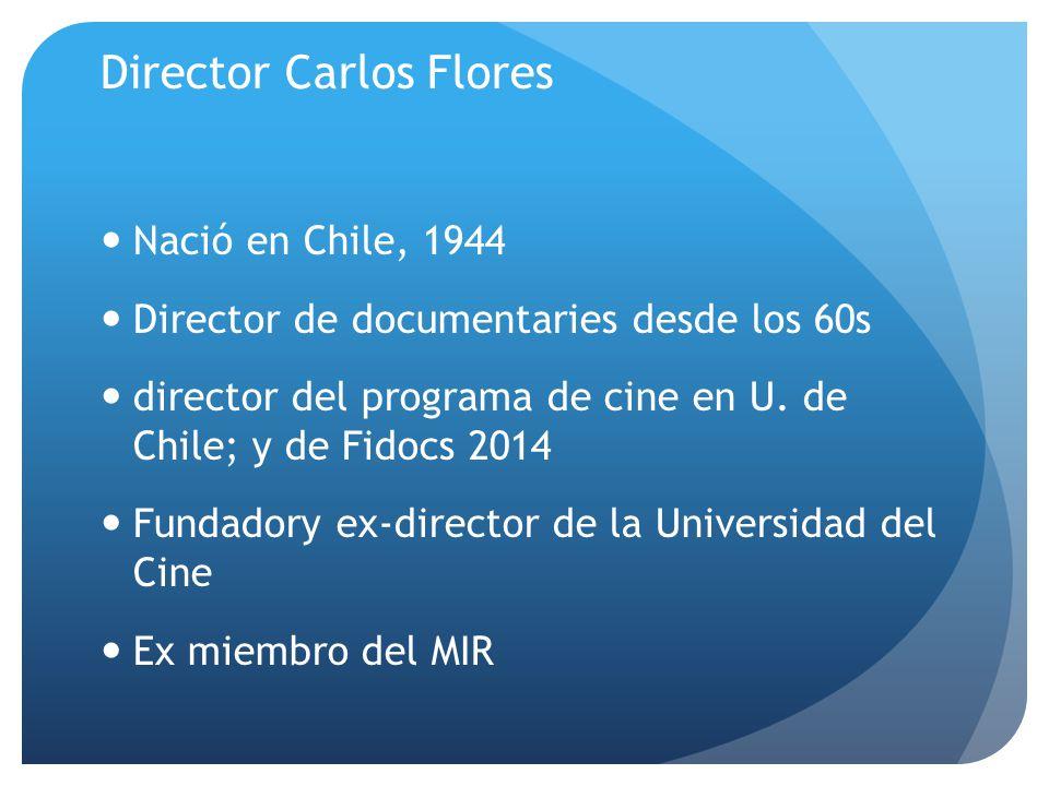 Director Carlos Flores