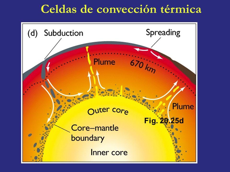 Celdas de convección térmica