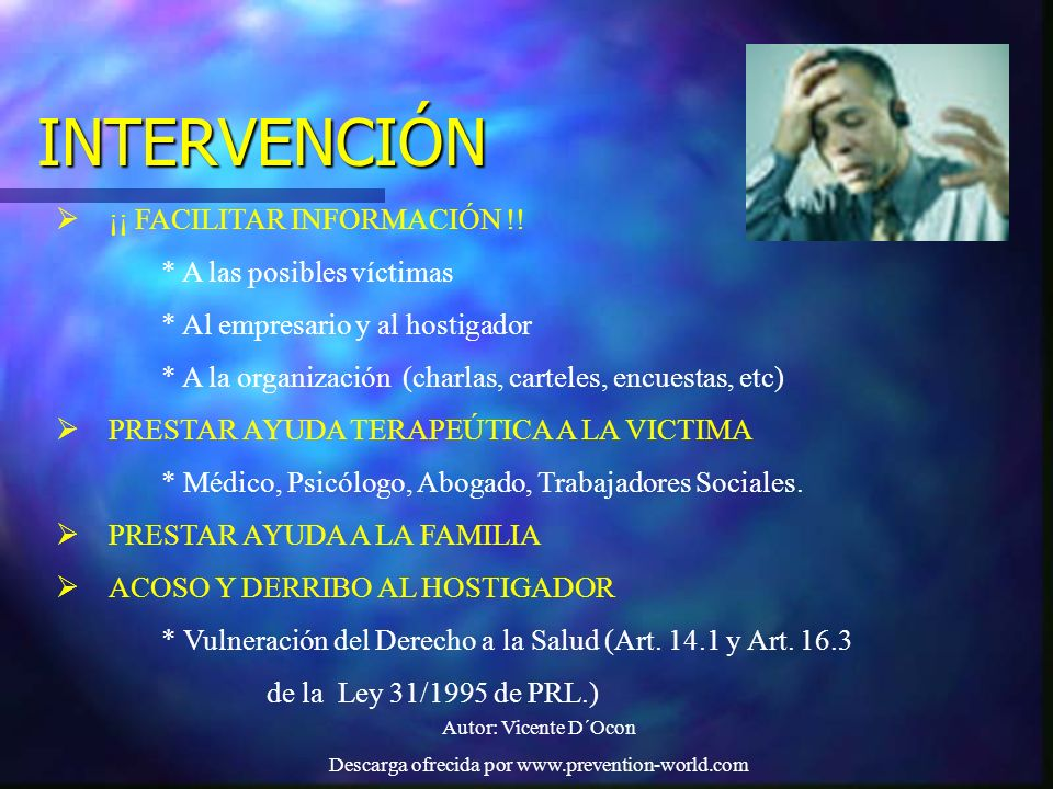 Descarga ofrecida por www.prevention-world.com
