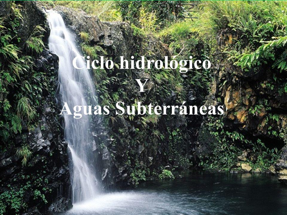 AGUAS SUBTERRÁNEAS, ORIGEN Y SIGNIFICADO.