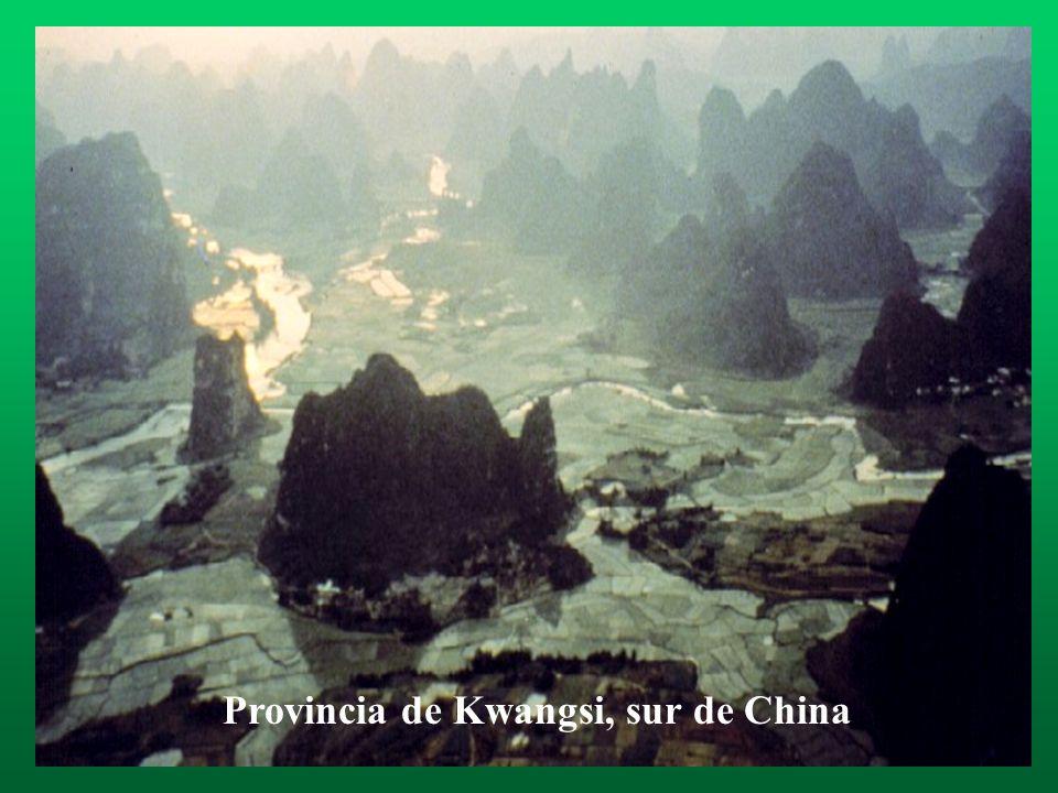 Provincia de Kwangsi, sur de China