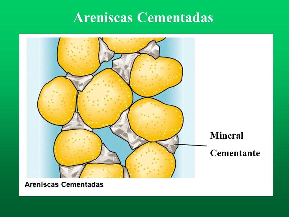 Areniscas Cementadas Areniscas Cementadas Mineral Cementante