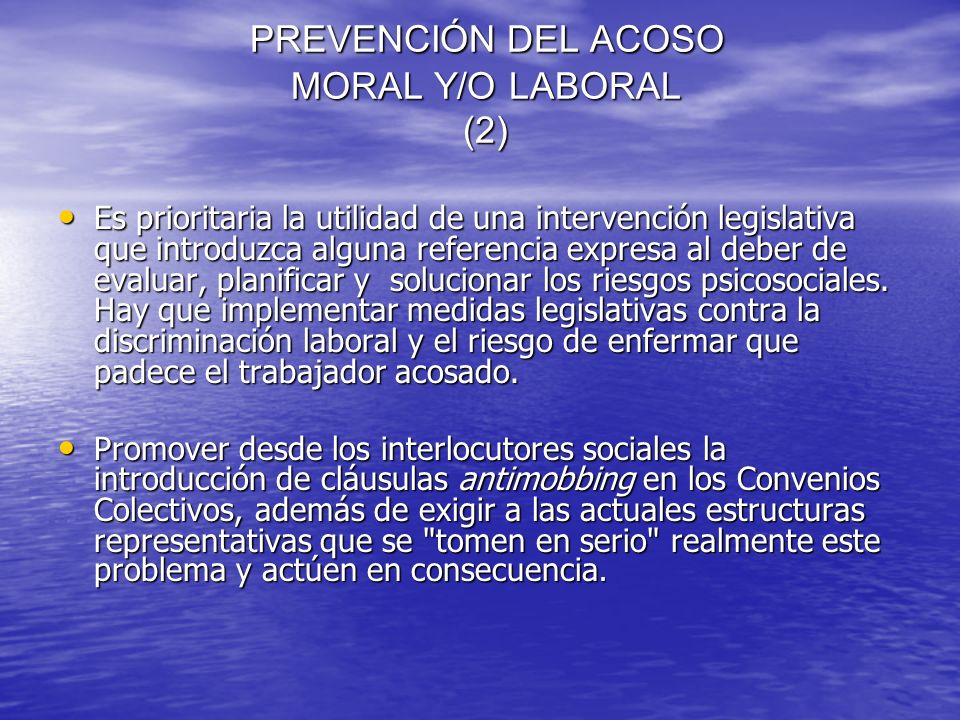 PREVENCIÓN DEL ACOSO MORAL Y/O LABORAL (2)