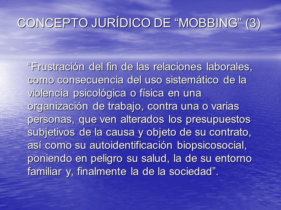 CONCEPTO JURÍDICO DE MOBBING (3)