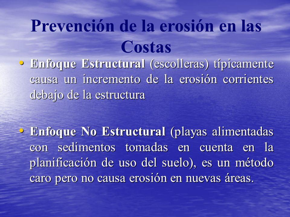 Prevención de la erosión en las Costas