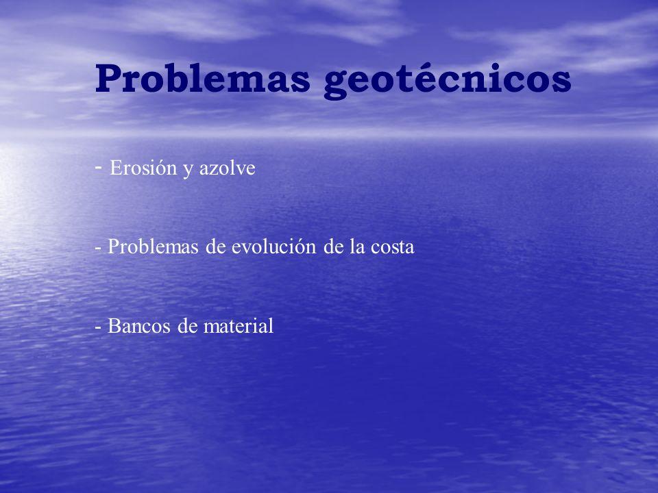 Problemas geotécnicos
