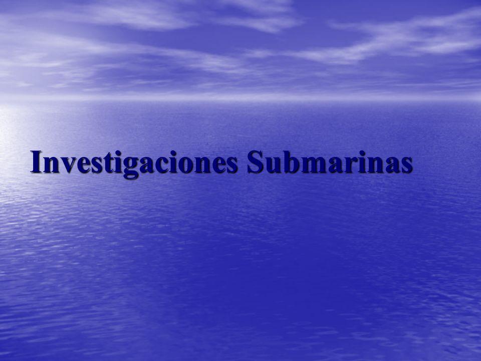 Investigaciones Submarinas