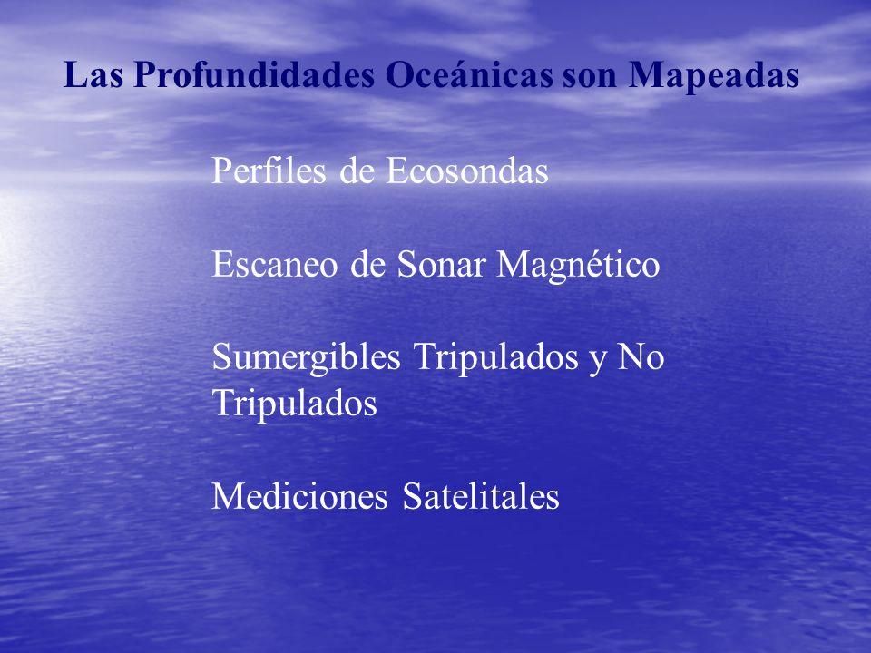 Las Profundidades Oceánicas son Mapeadas