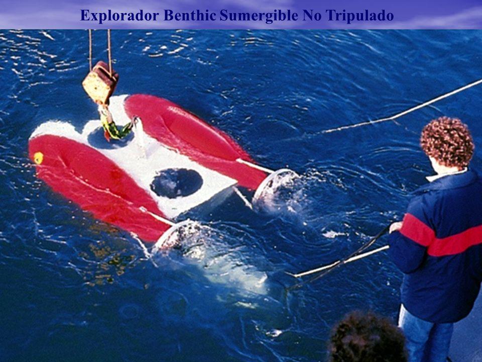 Explorador Benthic Sumergible No Tripulado