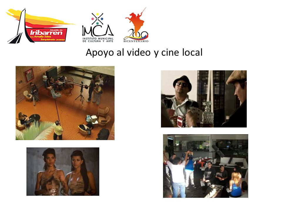 Apoyo al video y cine local
