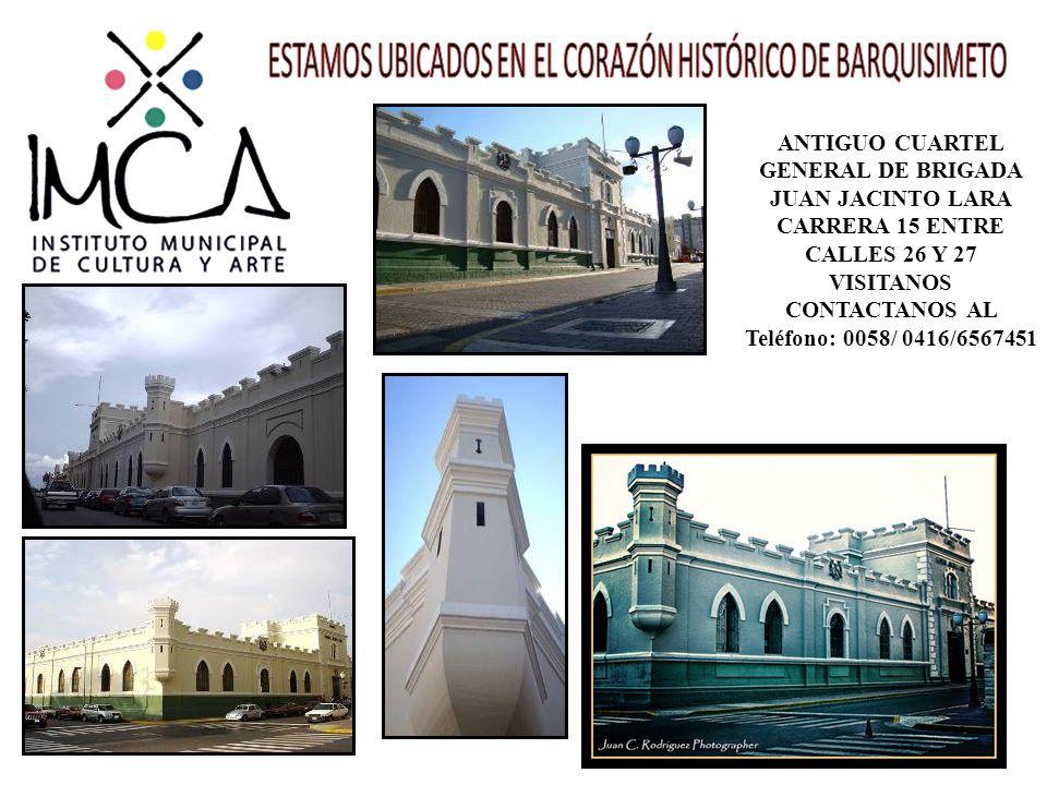 ESTAMOS UBICADOS EN EL CORAZÓN HISTÓRICO DE BARQUISIMETO
