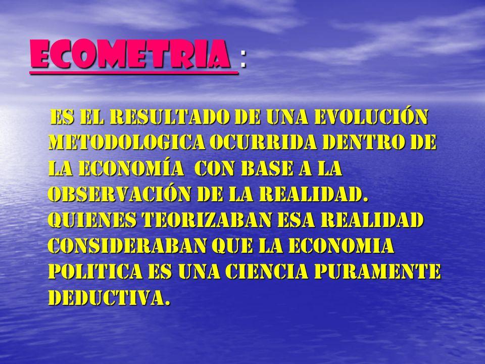 ECOMETRIA :