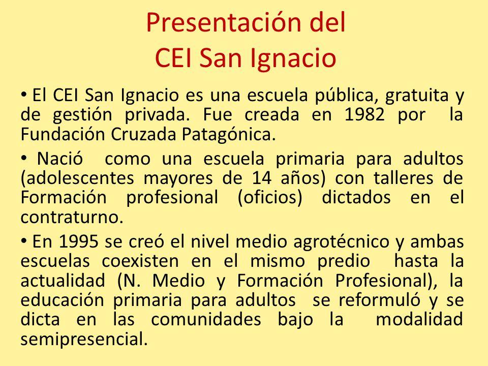 Presentación del CEI San Ignacio