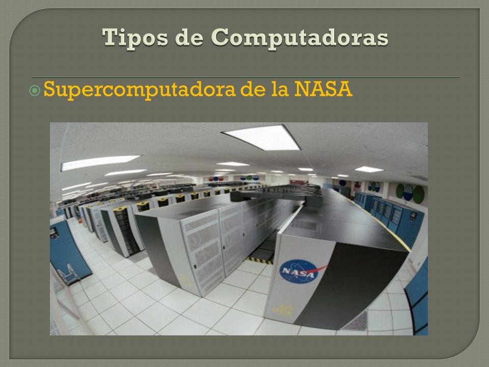 Tipos de Computadoras Supercomputadora de la NASA