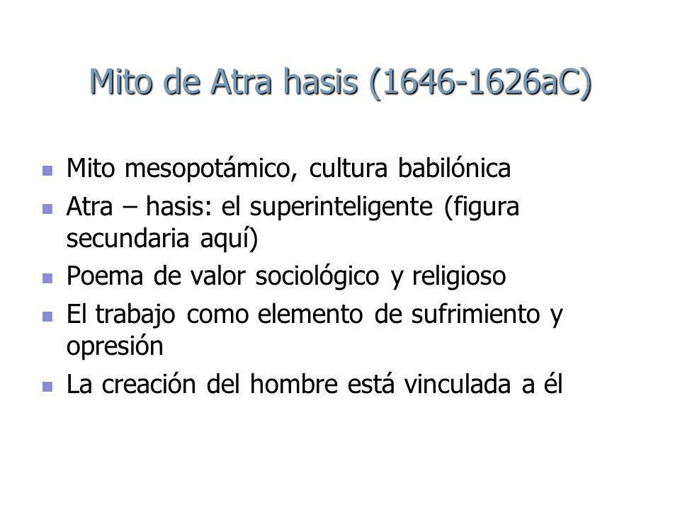 Mito de Atra hasis (1646-1626aC)