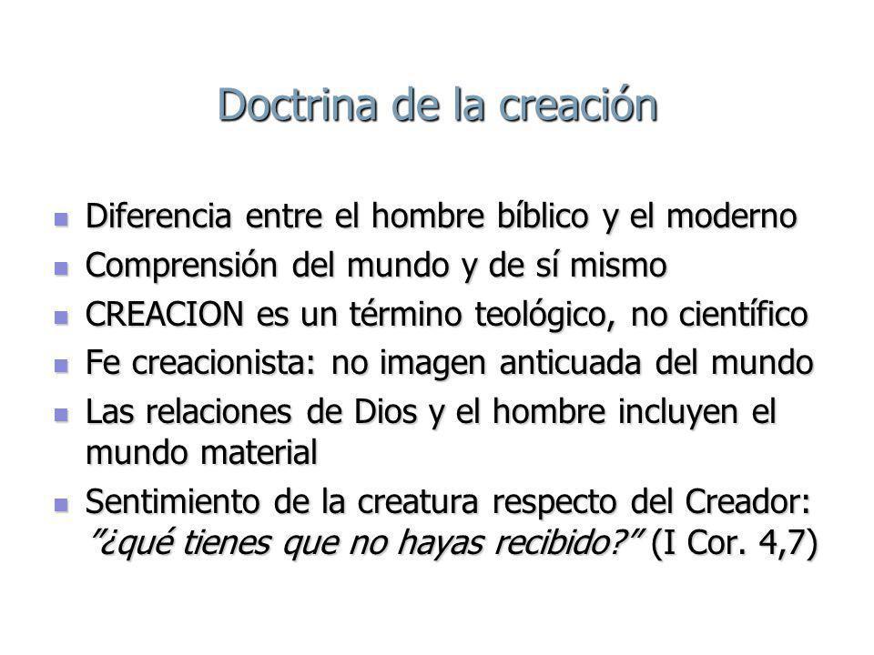 Doctrina de la creación
