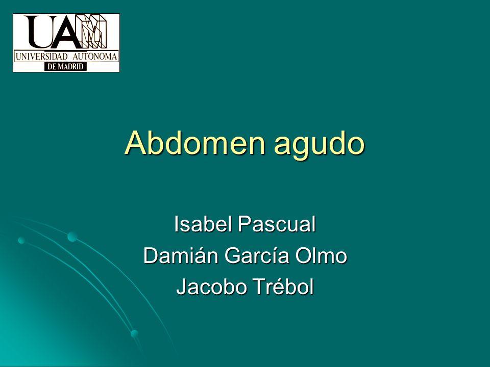 Isabel Pascual Damián García Olmo Jacobo Trébol
