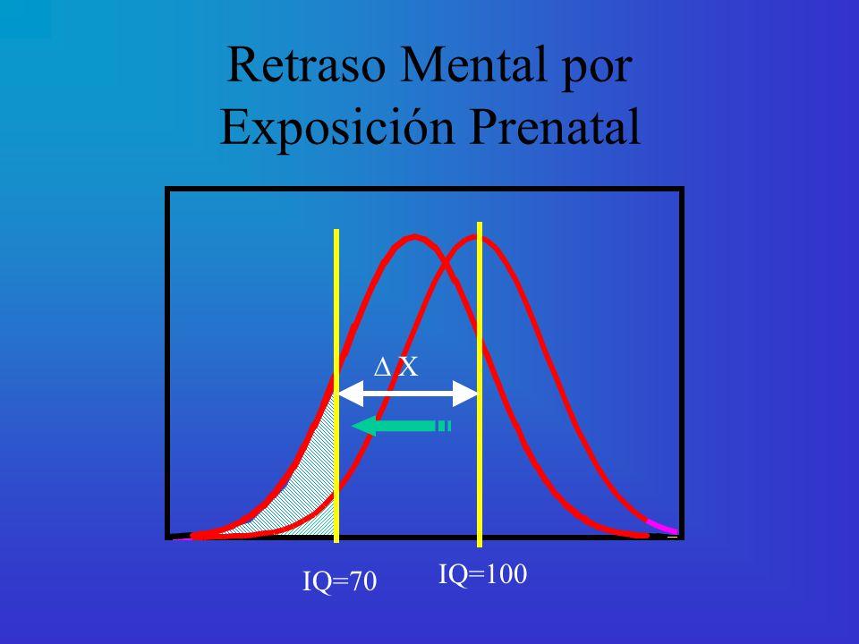 Retraso Mental por Exposición Prenatal