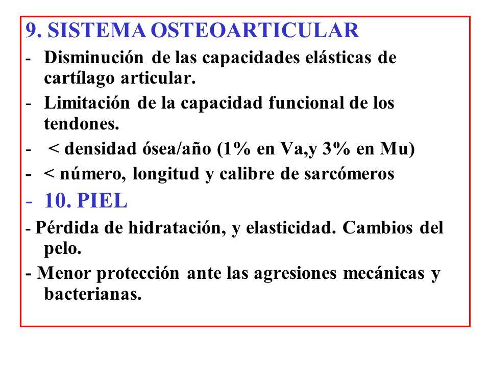 9. SISTEMA OSTEOARTICULAR