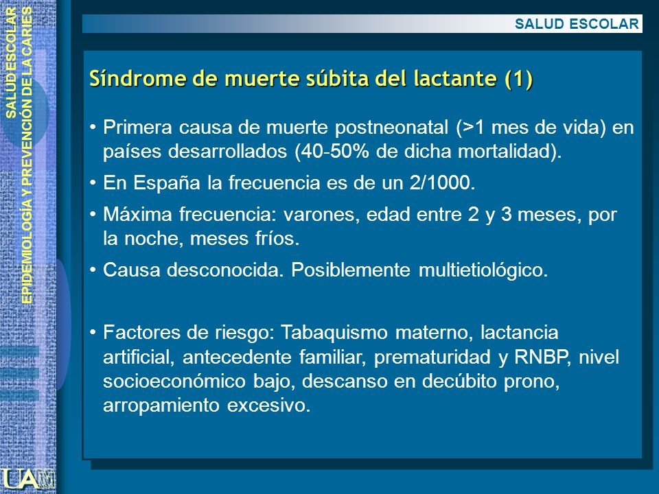 Síndrome de muerte súbita del lactante (1)