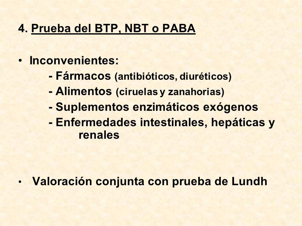 4. Prueba del BTP, NBT o PABA
