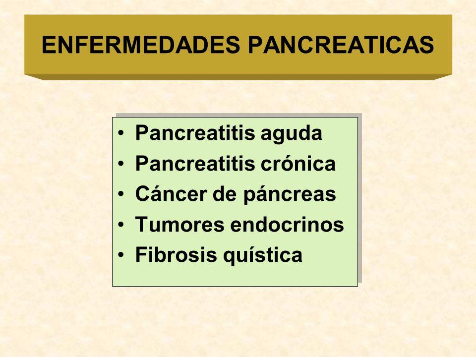 ENFERMEDADES PANCREATICAS