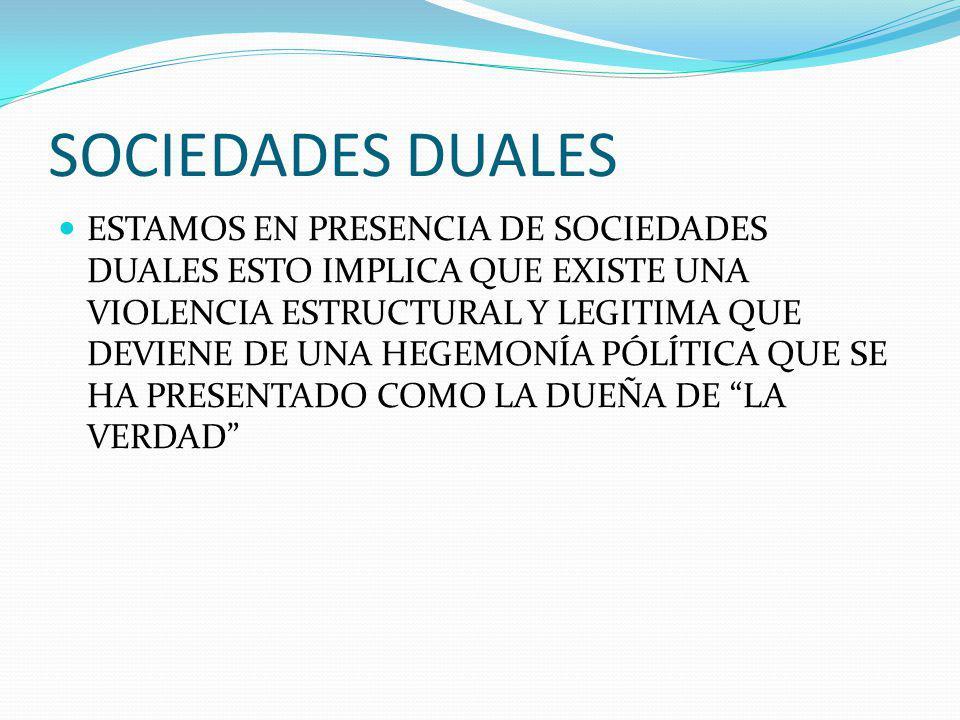 SOCIEDADES DUALES