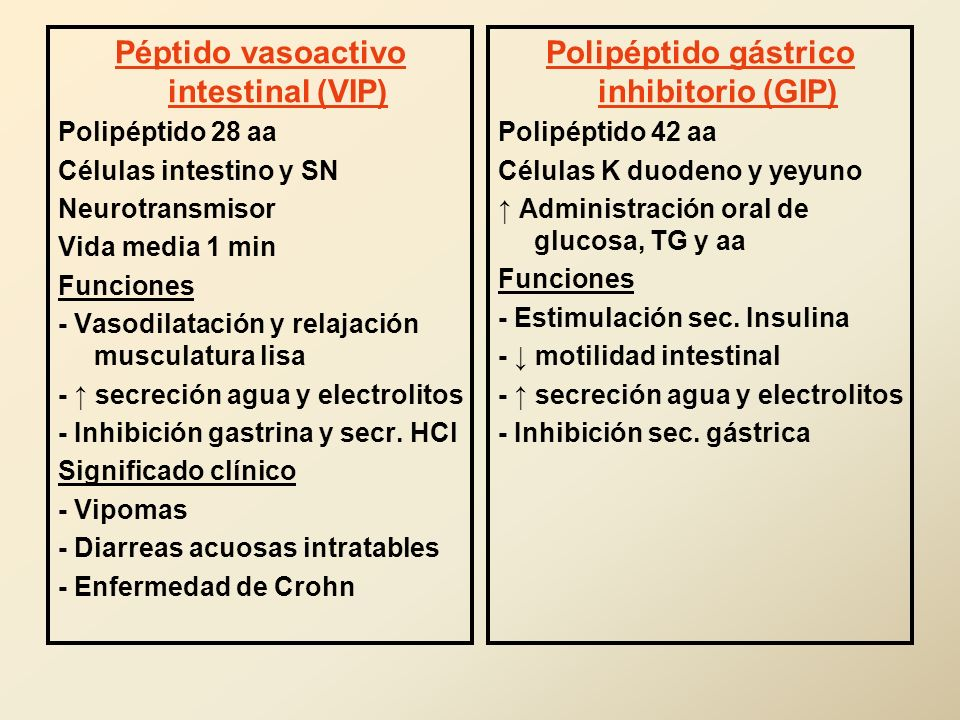 Péptido vasoactivo intestinal (VIP)
