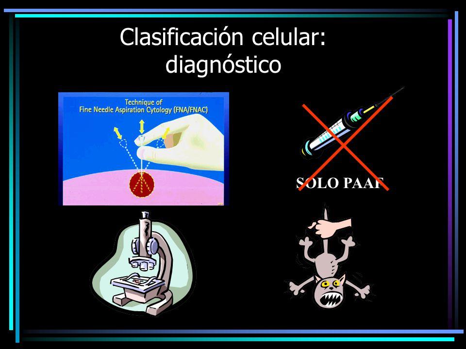 Clasificación celular: diagnóstico