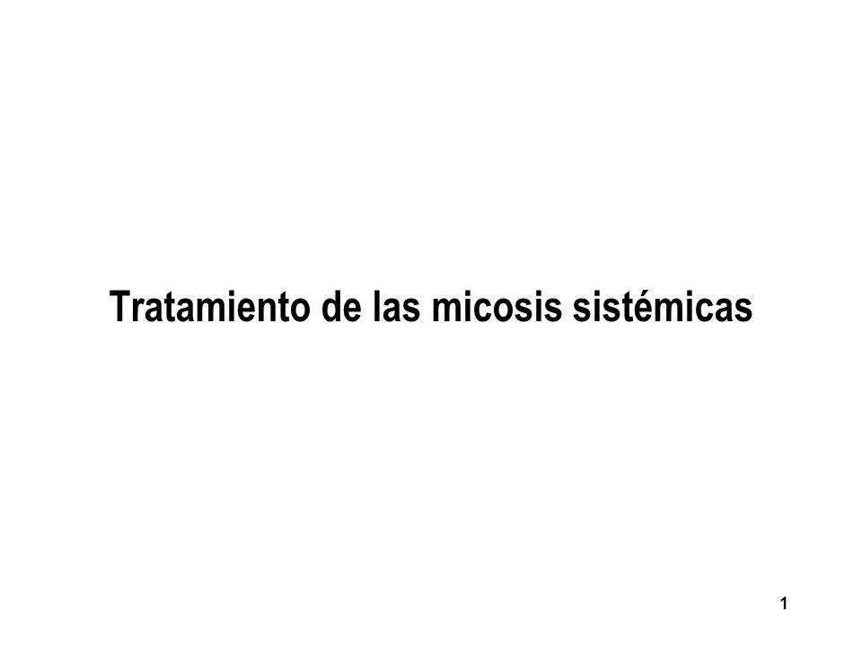 Tratamiento de las micosis sistémicas