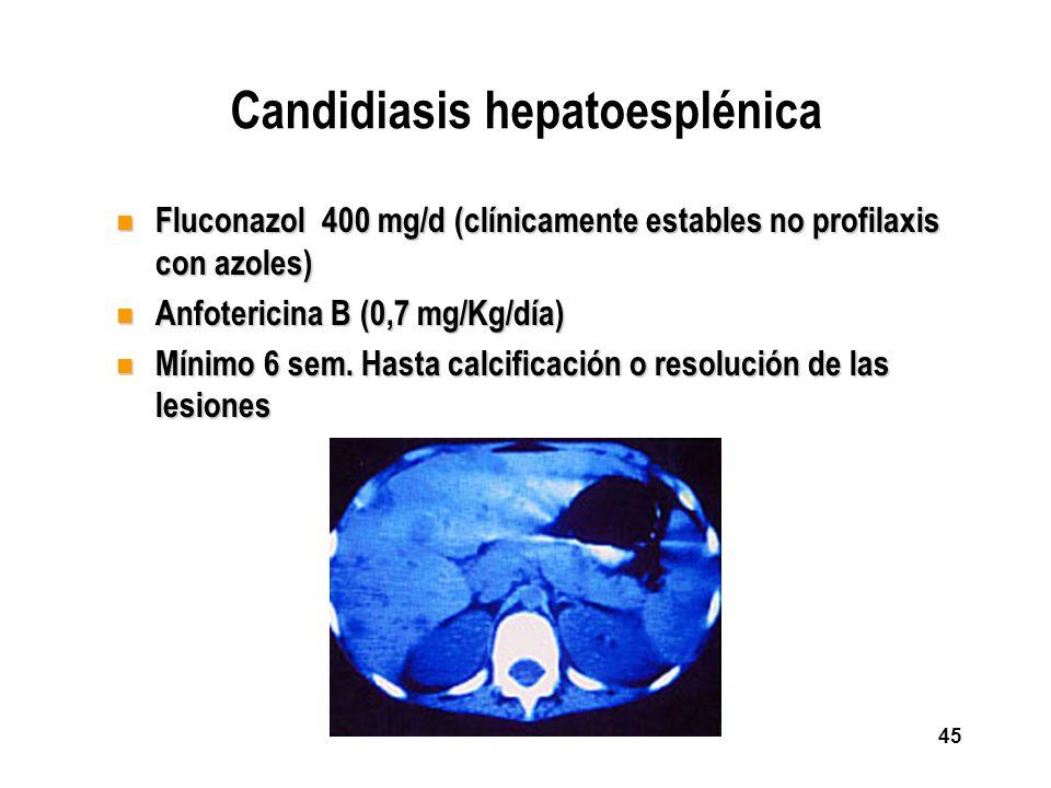 Candidiasis hepatoesplénica