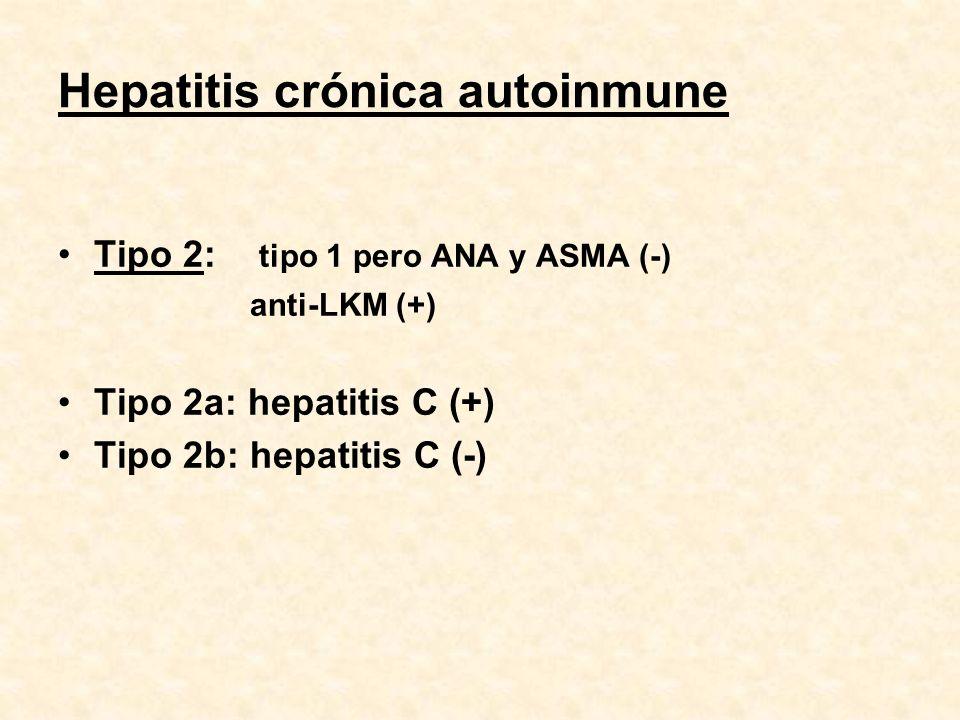 Hepatitis crónica autoinmune