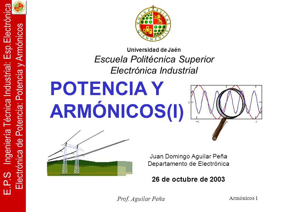POTENCIA Y ARMÓNICOS(I)