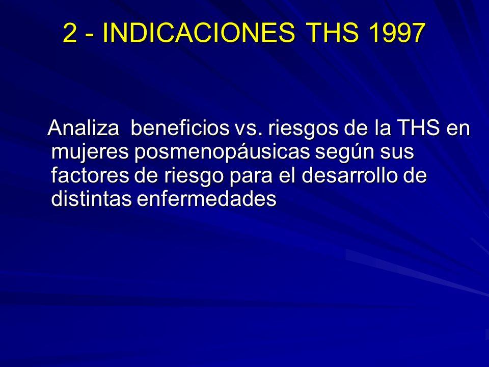 2 - INDICACIONES THS 1997