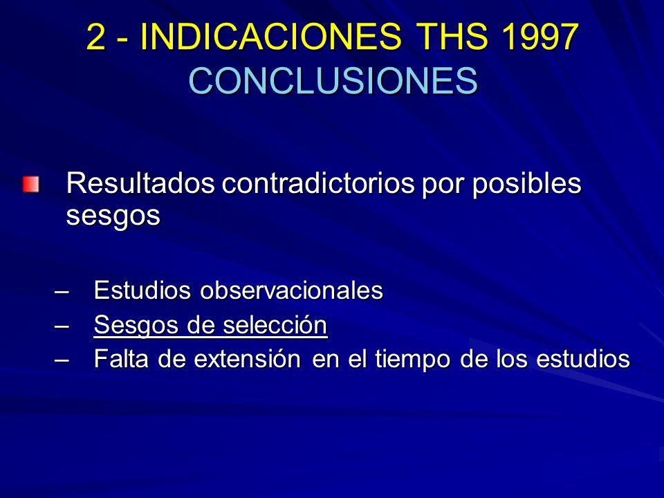 2 - INDICACIONES THS 1997 CONCLUSIONES