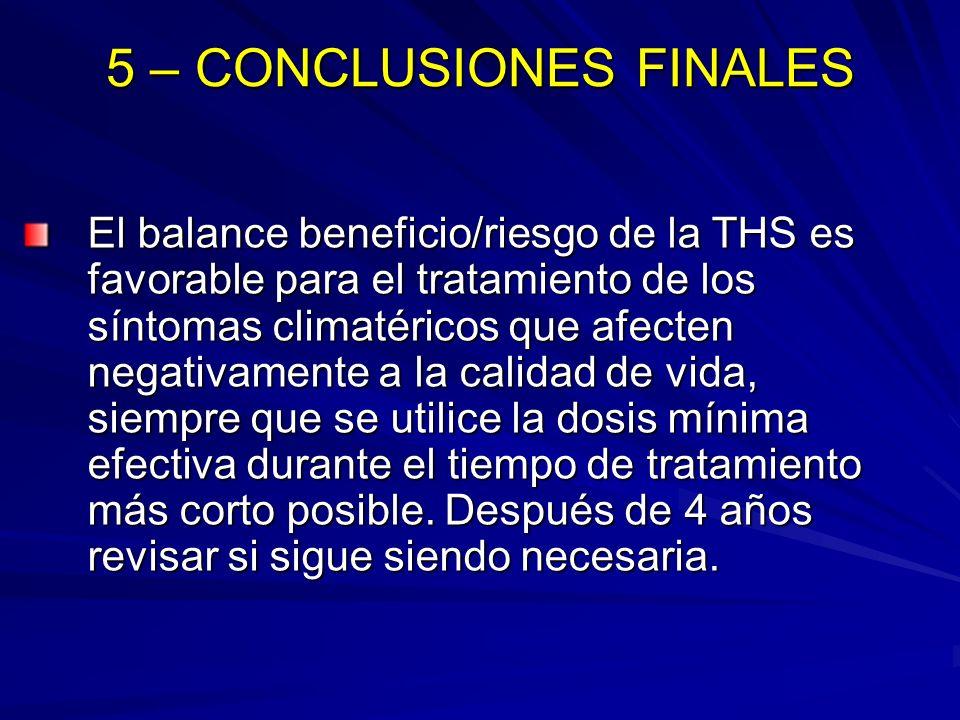 5 – CONCLUSIONES FINALES