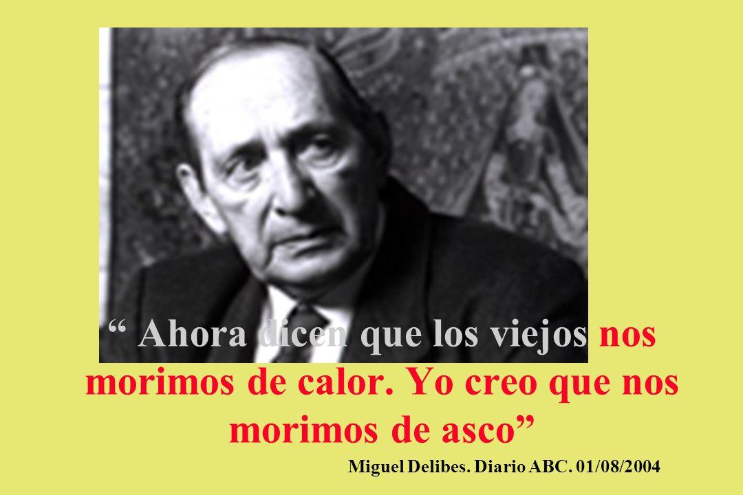 Miguel Delibes. Diario ABC. 01/08/2004