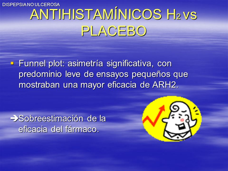 ANTIHISTAMÍNICOS H2 vs PLACEBO