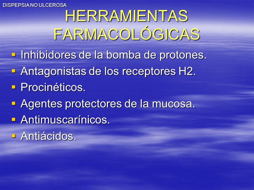 HERRAMIENTAS FARMACOLÓGICAS