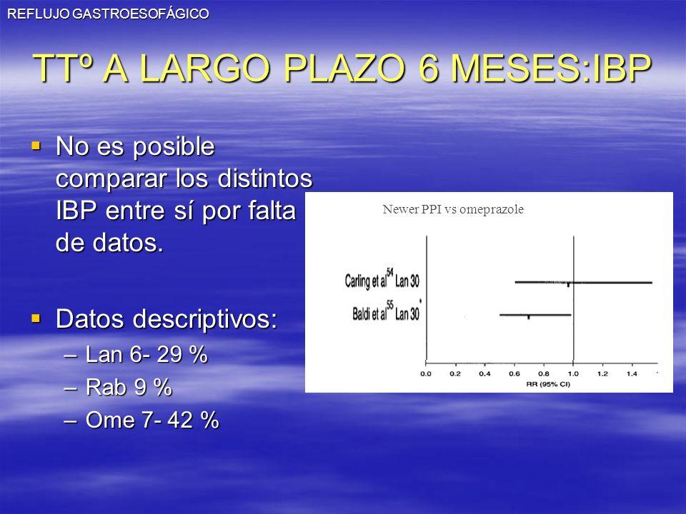 TTº A LARGO PLAZO 6 MESES:IBP
