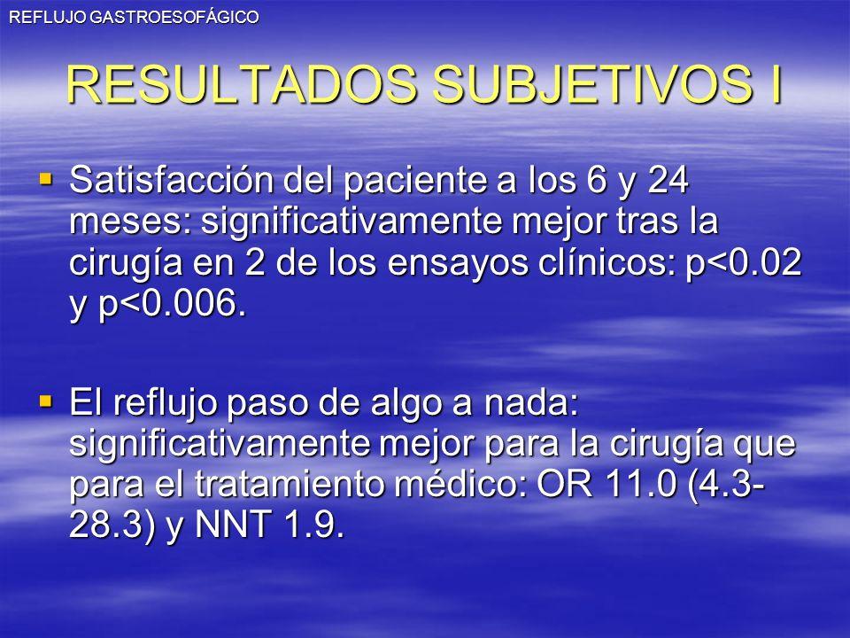 RESULTADOS SUBJETIVOS I